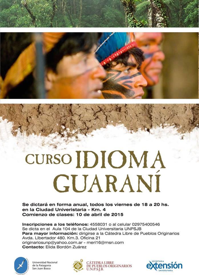 Guarani mbo'esyry Comodoro-pe (1)