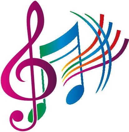 notas musicales color