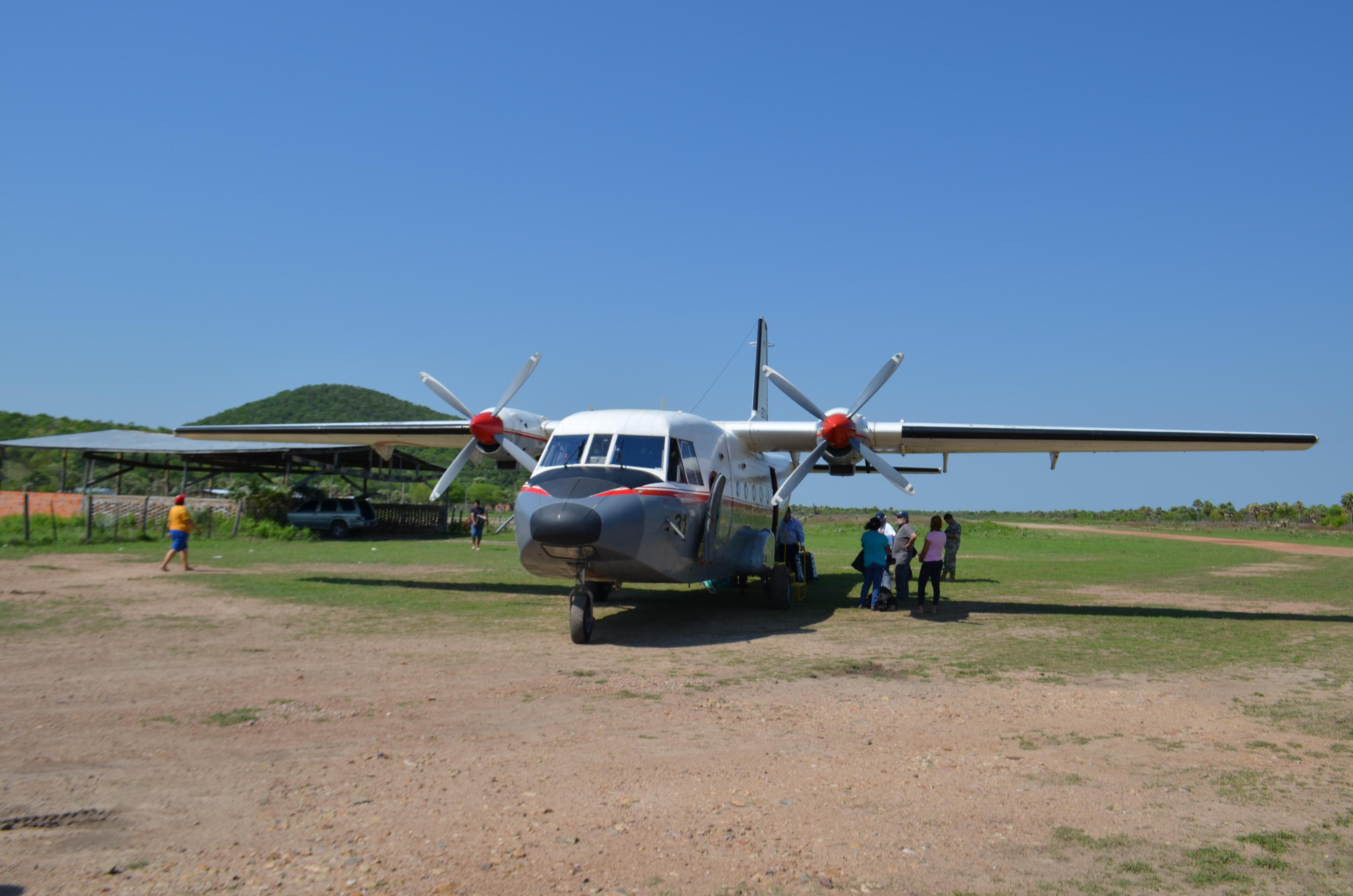 Aeronave de SETAM (Foto: esparaguay.wordpress.com)